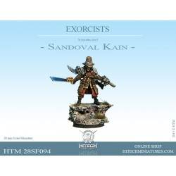 54mm Scale S-F Exorcist Lord Absalon