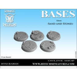 32mm Sand and Stones bases...