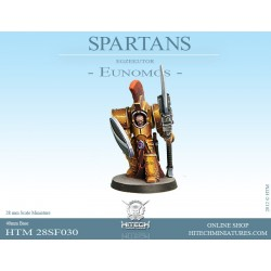 28mm SPARTAN Commander Agis