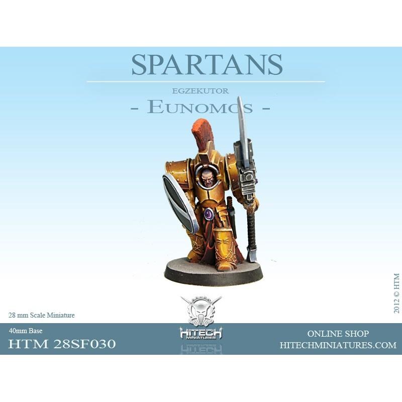 28mm SPARTAN Commander Agis