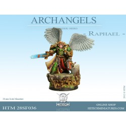 28mm Archdiacre Sariel Holy Standard Bearer